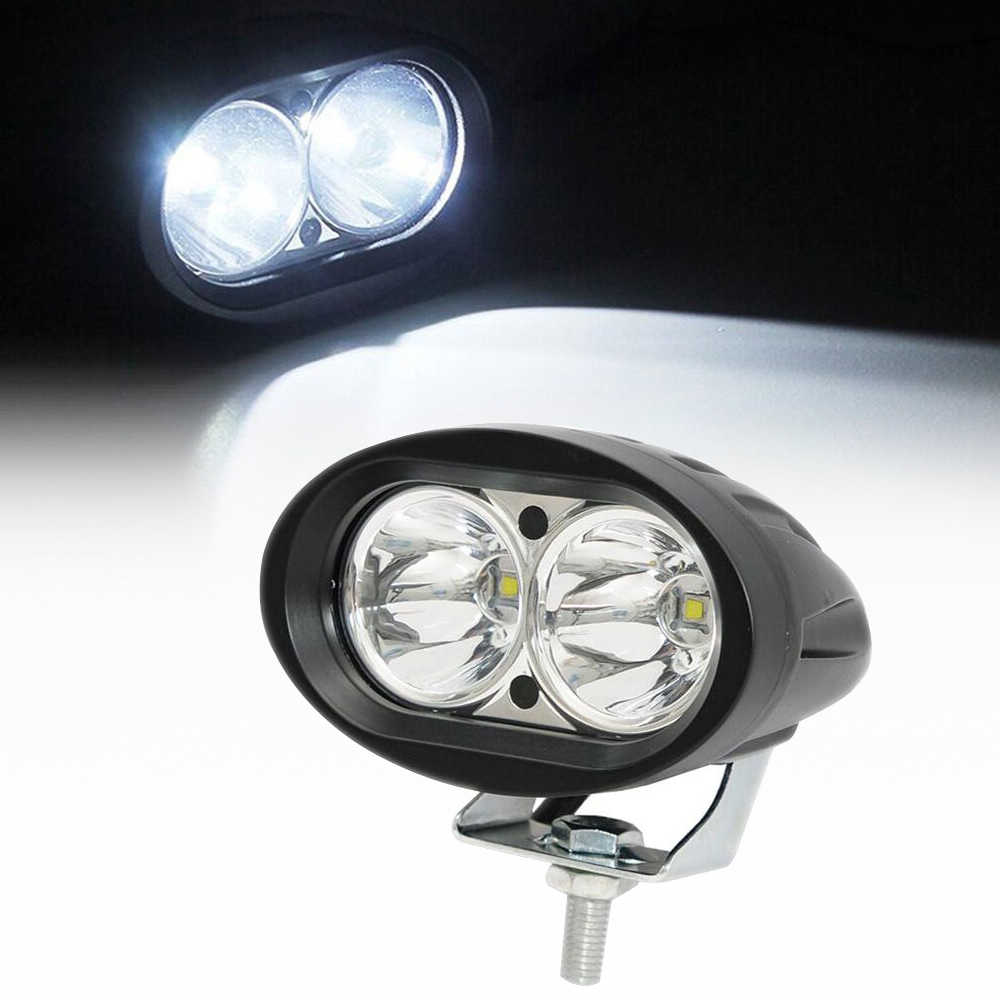 20W LED Car Work Light Driving Lamp Headlight Spotlight for Jeep Motorcycle Boat Offroad Tractor Boat Truck SUV ATV 4WD Pickup
