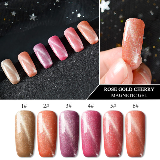 Gel Nail Polish Smooth Finish, High Gloss, Cat Eye Gel, Free Shipping