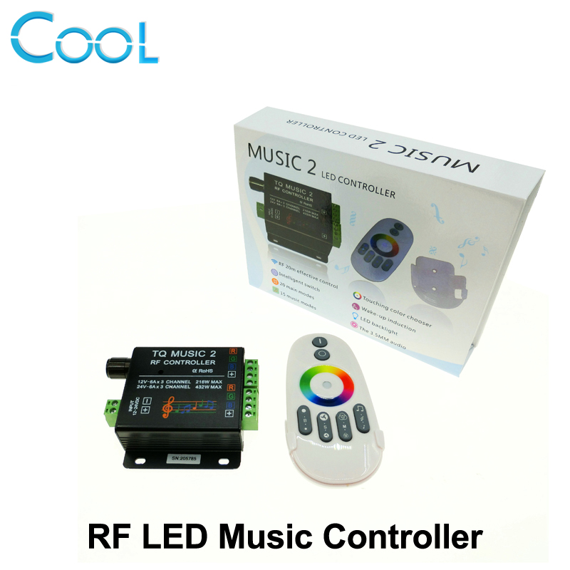 music led rgb controller dc12 24v intelligent sonic. Black Bedroom Furniture Sets. Home Design Ideas