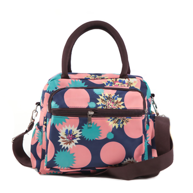 Thicken Pocket Oxford Cloth Personalized Insulated Lunch Totes for Women Storage Bag Lunch Bag Canvas Lunch Box Female Messenger