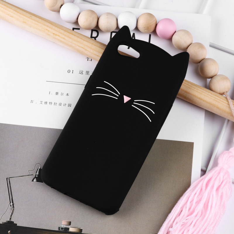 3D Cute Case For OPPO F7 Cases Silicone Cover For OPPO F5 R9 R9S R11 R11S A83 A79 A57 Cover Coque Fundas Skin Bags