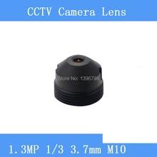 HD 1.3MP Infrared surveillance camera pinhole lens 3.7mm M10 thread CCTV lenses