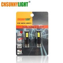 CNSUNNY светильник Canbus Автомобильный светодиодный W16W светодиодный T15 резервный обратный светильник лампа для Volkswagen Audi BMW Mercedes Mini FIAT Smart без ошибок