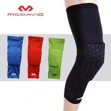 High Quality Mcdavid Breathable Basketball Shooting Sport Safety Kneepad Honeycomb Pad Bumper Brace Kneelet Protective Knee pads