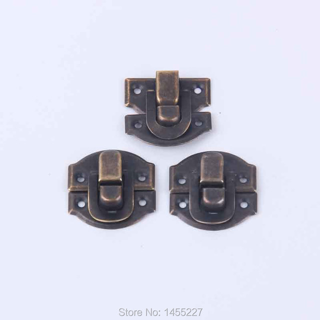 30PcsLot Vintage Style Locks Ancient Bronze MetalLocks For Handbag