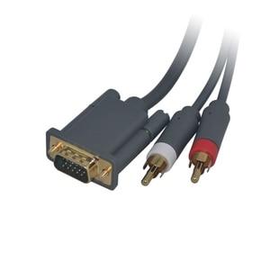 Image 5 - HD VGA AV כבל מחבר עם אופטי פלט עבור Xbox 360 עבור xbox360