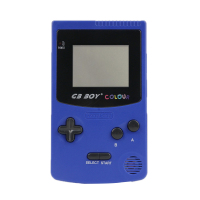 2pcs/lot GB Boy Color Colour Portable Game Console Games Player 2.7 Classic Child Handheld Game Consoles Backlit 66 Built in