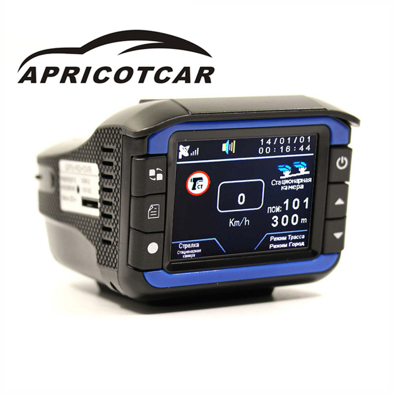 3 dans 1 Électronique Chien Une Machine Dash Caméra GPS + RD + VOITURE DVR Précis Positionnement Flux Vitesse Radar détecteur Conduite Enregistreur