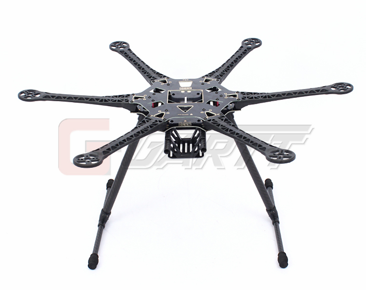 S550 шестиосные стойки MultiCopter Рамки RC hexrcopter MultiCopter