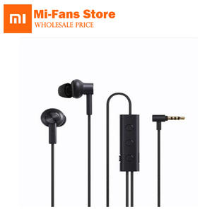 Image 1 - Mijia מקורי Xiaomi 3.5 ANC אוזניות היברידי 3 יחידה 2 כיתה רעש לבטל 6 Serie אל סגסוגת צמת חוט מתכת מהדק L תקע Hi Res