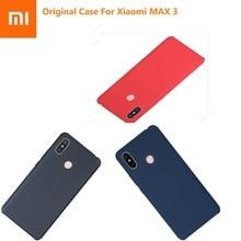 Original Xiaomi MAX 3 étui Ultra mince mode luxe antichoc dur PC + haletant housse de protection écran protecteur Xiaomi MAX3