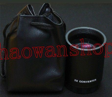 2 0x 2x teleconverter converter magnification lens for t t2 mount 500mm 800mm 650 1300 tele