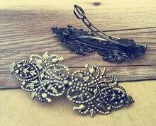 4Pcs/lot  32mmx94mm Antique Bronze hairpin accessories