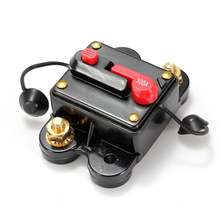 Newest 300A Car Marine Boat Bike Stereo Audio Inline Circuit Breaker Fuse DC 12V-24V Low Price(China)