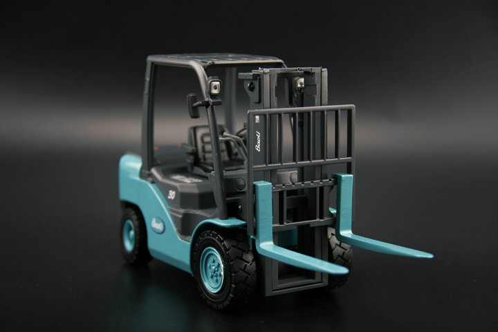 1:20 Model alloy engineering car model of Baoli forklift model Collection model power engineering ebook collection