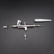 1 шт., мини-Аэрограф, распылитель для краски тела, Воздушная кисть 0,4 мм, игла для тату, 2CC ручка аэрографа, набор для макияжа ногтей