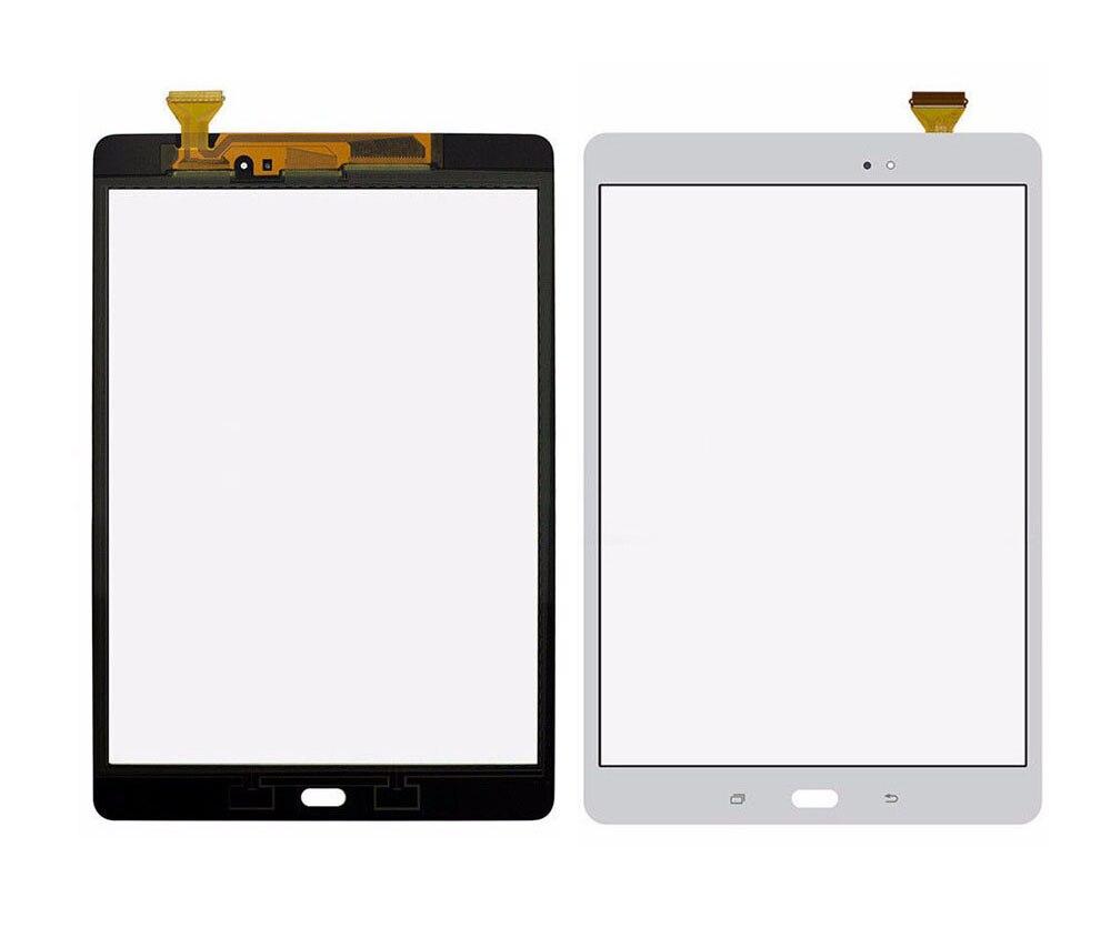 100% Test Gris/Blanc écran Tactile Capteur En Verre Digitizer Pour Samsung Galaxy Tab Un 9.7 SM-T550 T550 T551 T555