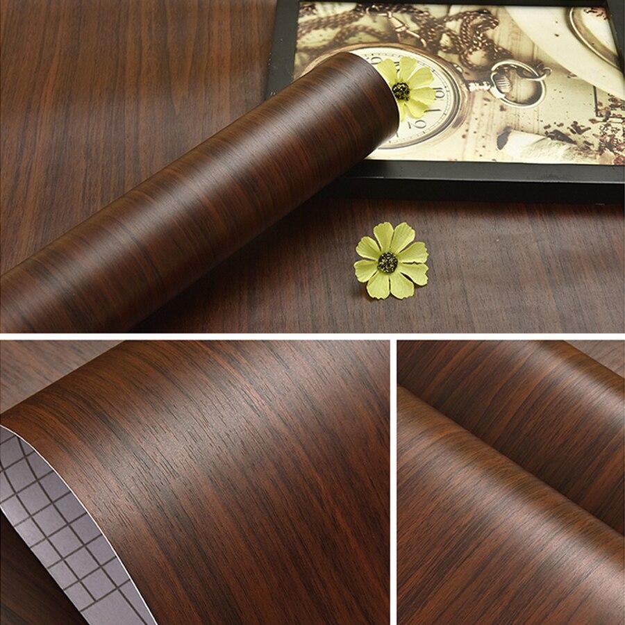 3 m/5 M moderna madera de grano vinilo autoadhesivo wallpaper ...