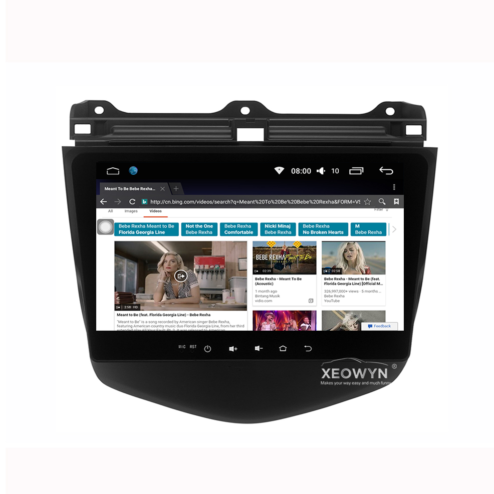 Android 60 Headunit Car Stereo Sat Navi For Honda Accord 7 2003 Head Unit 2007 Accord7 Gps Radio Bluetooth Steering Wheel Control In Multimedia Player From