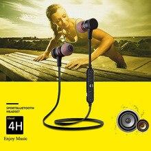 Awei A920BL Smart Wireless Sport Auricular Bluetooth 4.0 Deportes Estéreo En La Oreja Los Auriculares de Reducción de Ruido con Micrófono de control de Voz