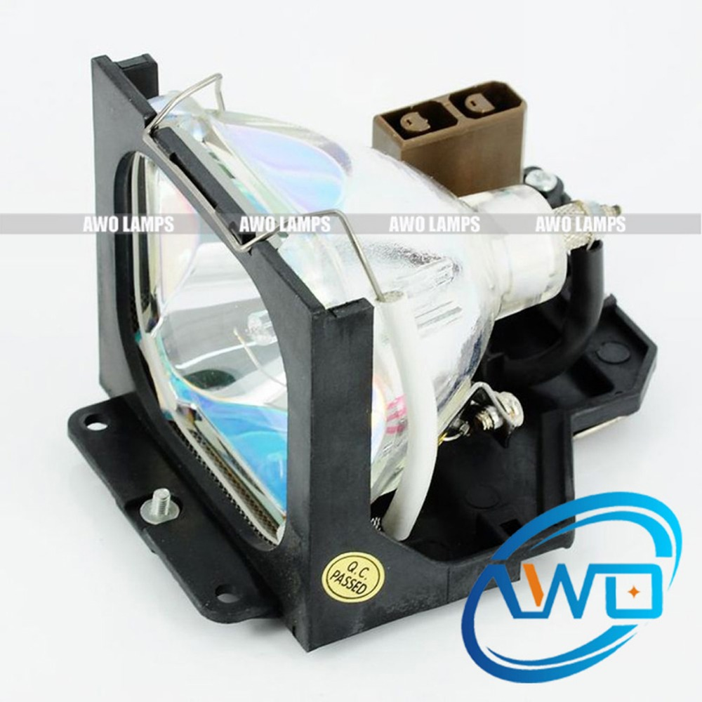 AWO TLPLU6 Replacement Lamp with Housing for TOSHIBA TLP-470Z/471/471Z/660/661/470A/470K/471A/471K/660E/661E toshiba portege z 830