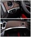 Para Chevrolet Cruze 2015 Pegatinas de Coches Caja De Almacenamiento Caja De Guantes Paillette de Acero Inoxidable Adornos