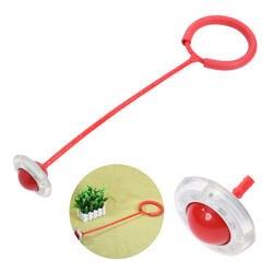 Киндер Springenden мяч дети ребенок флэш Прыжки ноги силу Бал Открытый спорт игрушка отказов стресс-шар