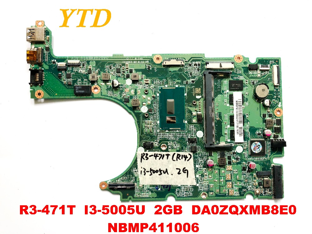 Original for font b ACER b font R3 471T laptop motherboard R3 471T I3 5005U 2GB
