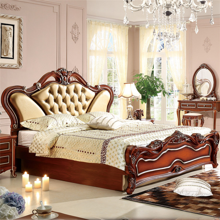 Popular Modern Classic Furniture Bedroom Furniture Antique Set
