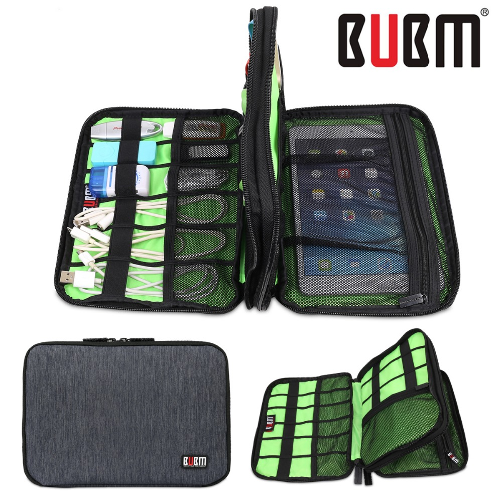 BUBM TRAVEL Storage Bag/ Electronic Accessories case/ Tool Pouch Organizer  Hard Drive /Cable Case/pen drive case/outdoor case-in Storage Bags from