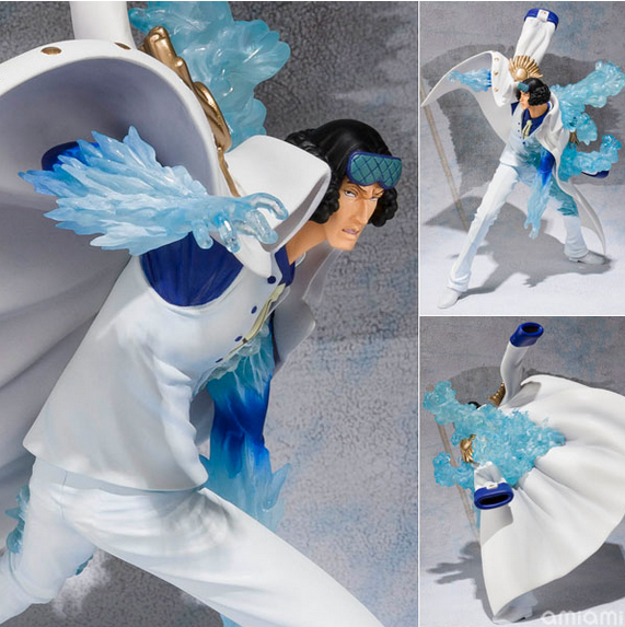 New Japan anime one piece admiral Kohza Green Pheasant generals fighting edition Kuzan pvc action figure model toy free shipping free shipping cool 8 7 one piece marine fleet admiral akainu sakazuki battle ver boxed pvc action figure collection model toy