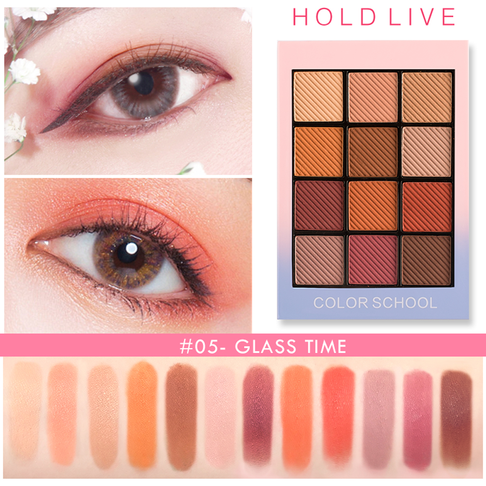 Ubub New Arrivals Charming Matte Eye Shadow Palette Waterproof 2 Colors Shimmer Pigmented Glitter Eyeshadow Powder Eyes Makeup Excellent In Cushion Effect Eye Shadow