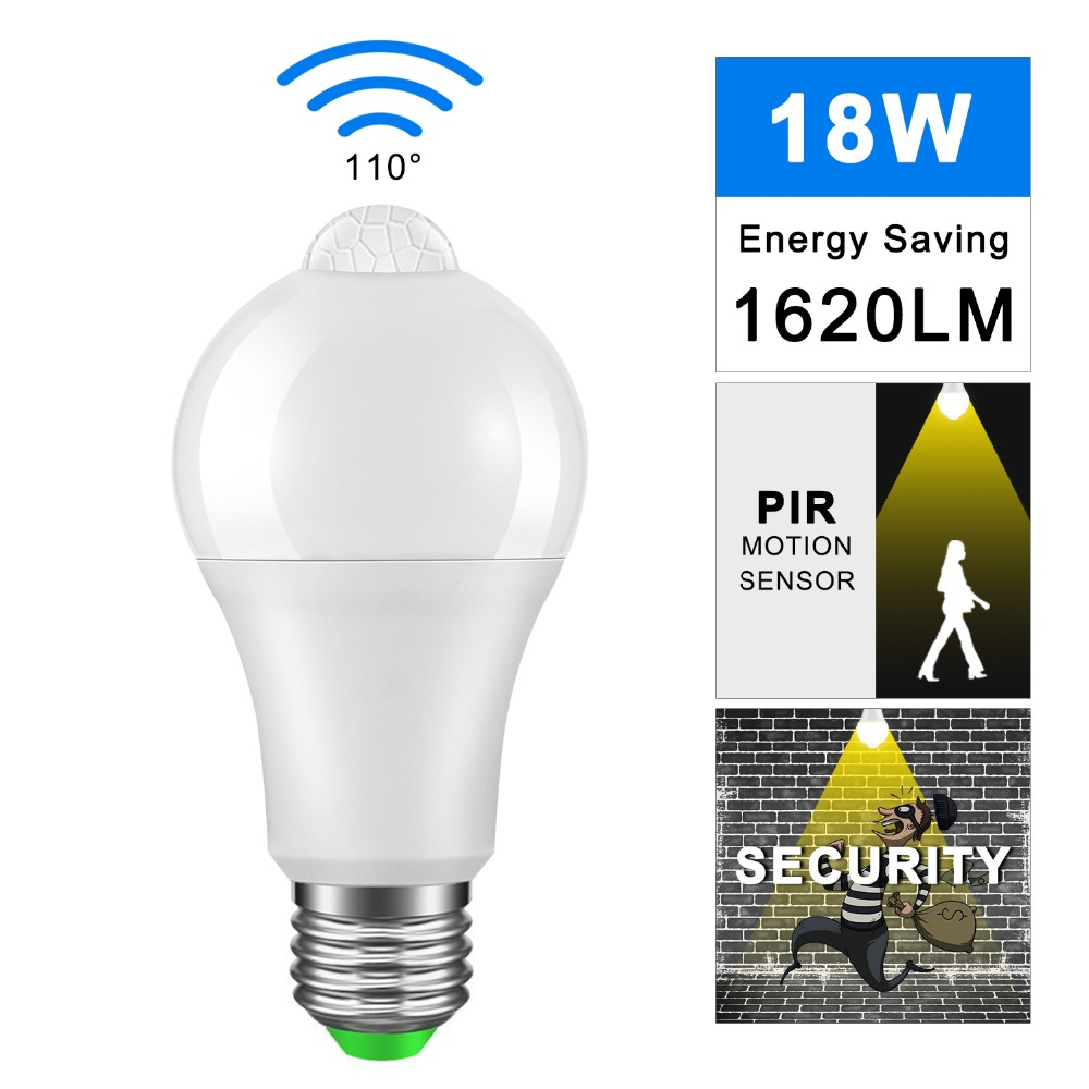 Led Bulb 12w 18w 220v 110v Adapter Lamp