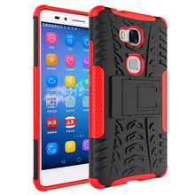 Luxury Armor Shock Proof Hybrid TPU Silicone + Hard Protective Cover Case For Huawei Honor 5X 5 X X5 GR5 Phone Case Back Cover