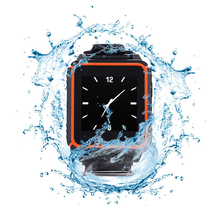 Ultra-rugged Patented Tri-proof W08 Smart Watch Phone Shock Dust Waterproof GSM SIM Card Voice Call Outdoor for Android IOS