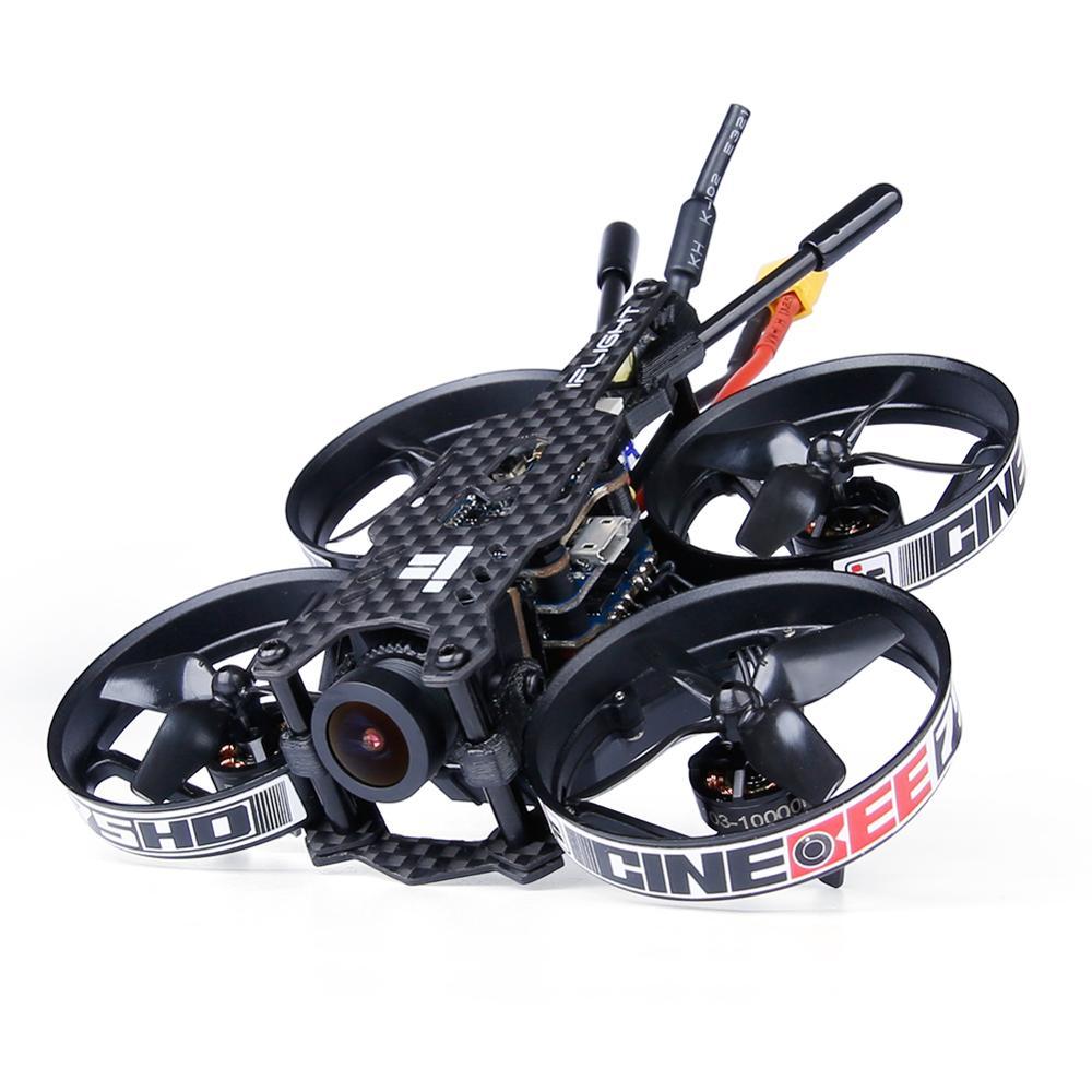 IFlight CineBee 75HD 75mm 2 3S Whoop z Caddx żółw V2 kamera/iff SucceX F4 data data powrotu (wieża/1103 2 3S silnik dla FPV RC drone w Części i akcesoria od Zabawki i hobby na  Grupa 3