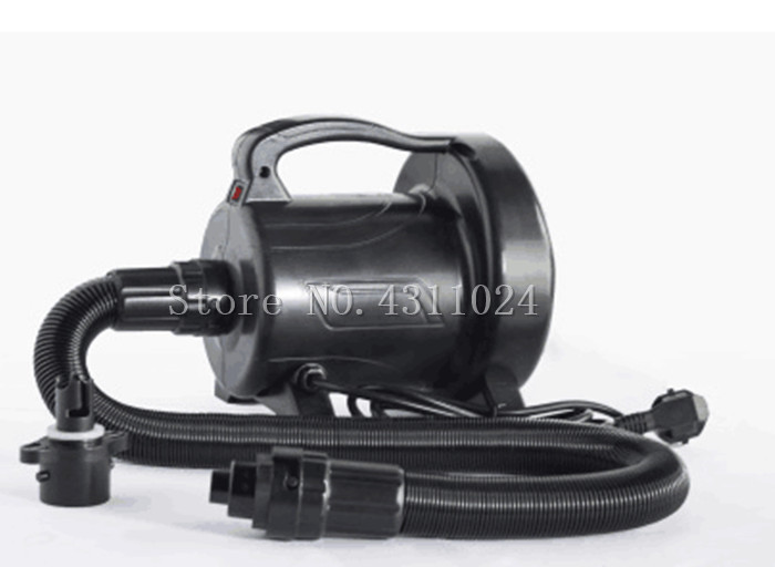 Free shipping AC 110V 240V 1200w Electric Air Pump for Air Mattress Inflatable Boat Bubble Soccer Ball Zorb Ball