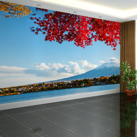 Free Shipping Seamless Whole Seascape Living Room Sofa TV Background Wall Mural Wallpaper Bedroom Stereo 3D