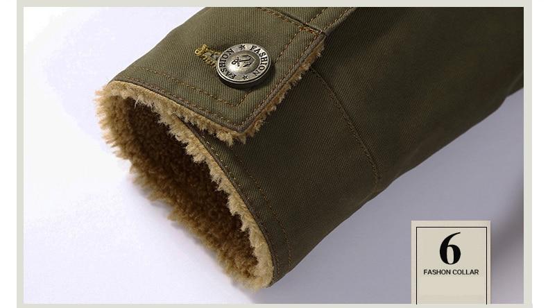 Denim Hiking Jackets Mens Coat (13)