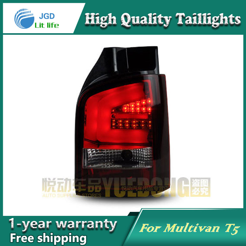 Car Styling Tail Lamp for VW Multivan T5 taillights Tail Lights LED Rear Lamp LED DRL+Brake+Park+Signal Stop Lamp car styling tail lamp for toyota prius taillights tail lights led rear lamp led drl brake park signal stop lamp