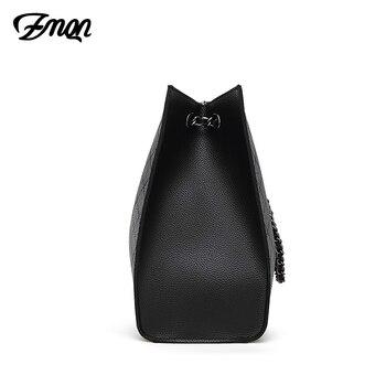 ZMQN Leather Luxury Handbags  2