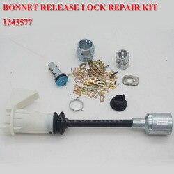 Blokada zwalniania maski dla FORD FOCUS zestaw naprawczy zatrzasku MK2 2005-2011 1343577 z pakietem części zatrzask osłona zamka drzwi blokada