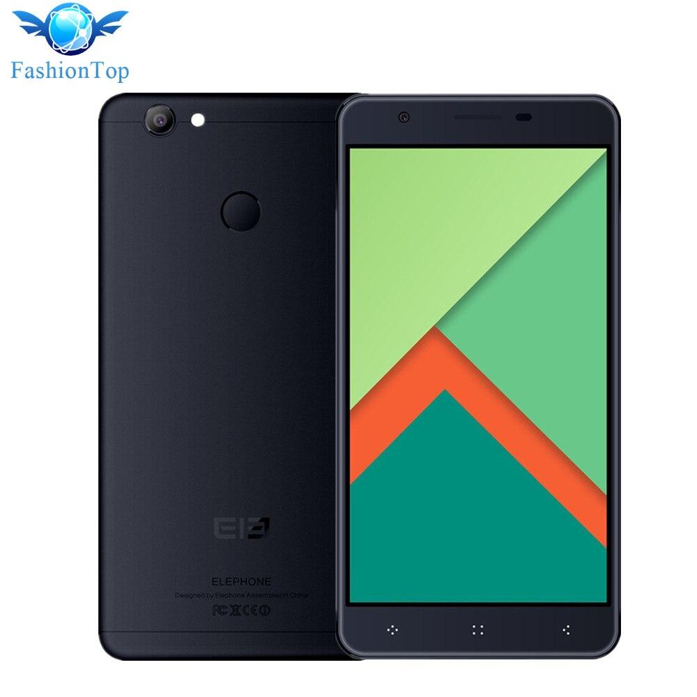 Elephone mtk6737 c1x 5.5 pulgadas smartphone android 6.0 quad core 1.3 ghz 2G RA