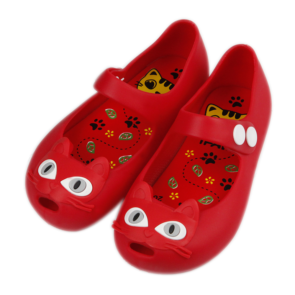 bb2c2d4e683f Belva girls cat princess jelly shoes mary jane flats for toddler jpg  1000x1000 Red jelly flats