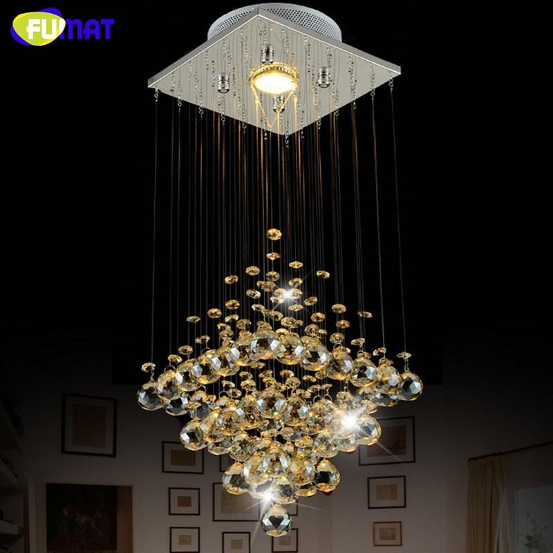 Fumat Led Ceiling Fans Crystal Light Dining Room Living: Aliexpress.com : Buy FUMAT K9 Crystal Ceiling Light Modern