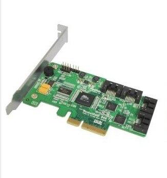 HighPoint Rocket RAID 640(SATA 6 Gbps RAID CARD)/PCI-E Gen2.0 x4/RAID 0,1,5,10,JBOD super speed raid 0 3л