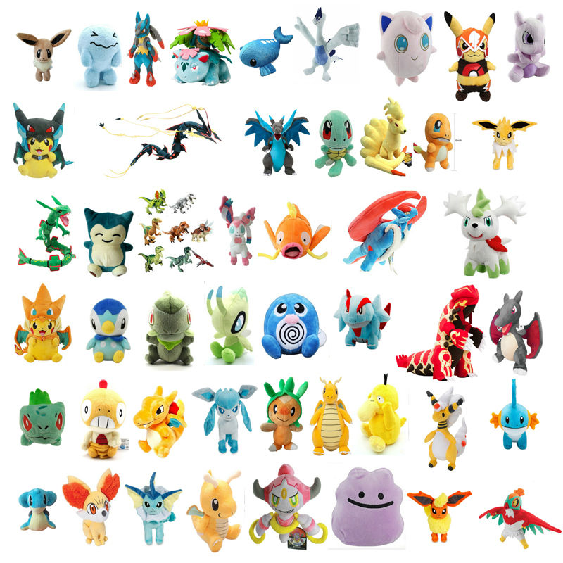 pokemon go plush toys