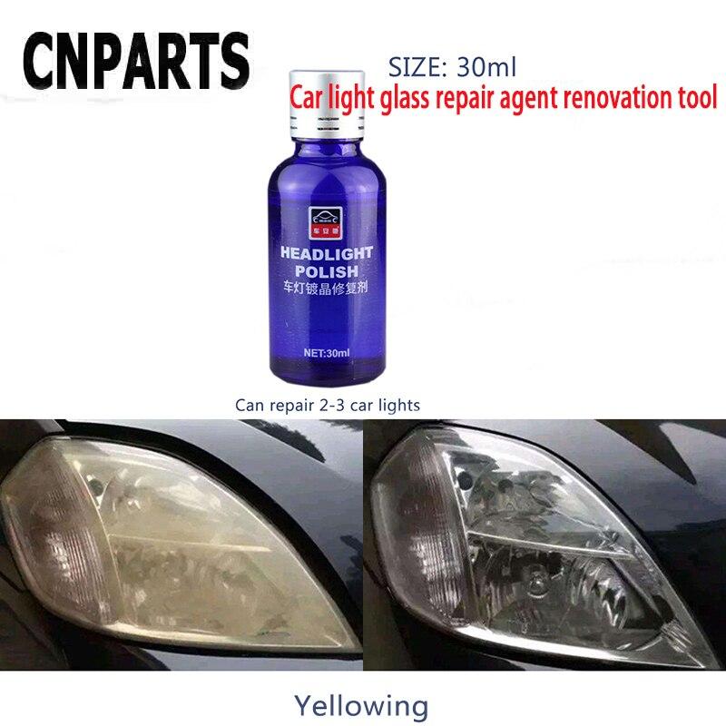 CNPARTS Voiture Réparation Remake Lumière Phare Agent De Polissage Polonais Pour Volvo S60 V70 XC90 Subaru Forester Peugeot 307 206 308 407