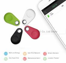 Hot Mini Bluetooth 4.0 GPS Traker Locator Alarm Portable Anti-lost Key Finder Car Pet Tracker Two Way Anti-Theft Device