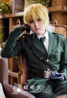 Anime APH Hetalia England Cosplay Costumes Axis Powers England Cosplay Costumes Arthur Kirkland